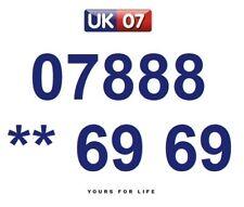 07888 ** 69 69 - Gold Easy Memorable Business Platinum VIP UK Mobile Numbers