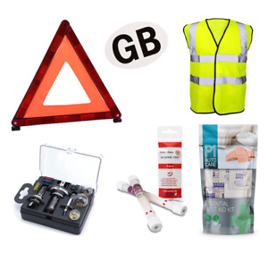 STYLARIZE® Universal European Car Travel Abroad Kit Europe France and GB Sticker