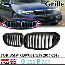 For BMW G30 G31 5 Series Sport Kidney Grille Grill Gloss Black Performance Look