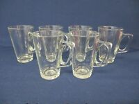 6 Hot Drinks Glasses / Mugs / Cups  - Tea / Coffee / Cappuccino / Latte