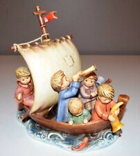 """New ListingGoebel Hummel Figurine with Medallion """"Land In Sight"""" #530 - Limited Edition 9"""""""