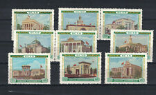 Russia, USSR, 1955, S.c.#1770 - 1785, set of 16 mnh stamps - 3 se-tenant pairs.