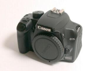 Canon EOS 1000D 10,1MP DSLR-Kamera - Schwarz (Nur Gehäuse)
