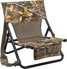 Camo Fishing Chair Hunting Seat Turkey Hunter Gear Run n Gun with Carry Strap