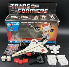 TRANSFORMERS 1986 Generation One Autobot SILVERBOLT 100% Complete G1 with Box