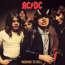 AC/DC Highway to Hell BANNER HUGE 4X4 Ft Fabric Poster Tapestry Flag album cover