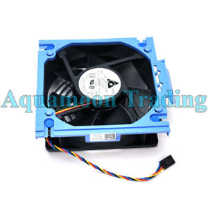 YN845 Dell PowerEdge T300 120x38 12V Rear Case Fan Assembly PWM 4Pin Cable UG891