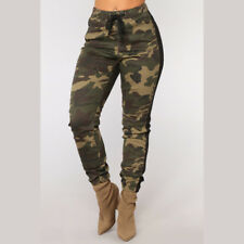 US Fashion Womens Camouflage Camo Casual Pants Military Army Leggings Trousers
