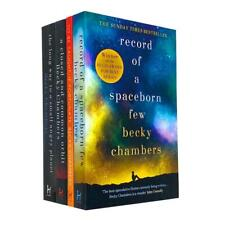Wayfarers Series 4 Books Collection Set by Becky Chambers Long Way to a Small