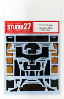 Studio27 ST27-CD24025 Toyota GT-One TS020 Carbon Decal for Tamiya 1/24 Scale