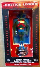 MARTIAN MANHUNTER MINI-MAQUETTE (2003) DC Justice League Animated; Free Shipping