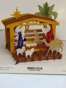 LovePop 3D Christmas Nativity Scene Pop Up Christmas Card New in Package