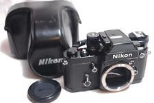 "[NEAR MINT] Nikon F2 AS photomic SLR Film Camera Black Body ""Fully Works"" Japan"