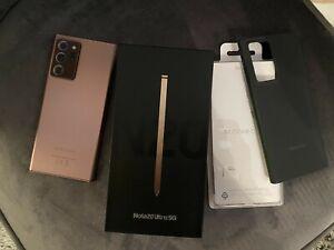 Samsung Galaxy Note 20 Ultra 5G 256GB Unlocked Mystic Bronze