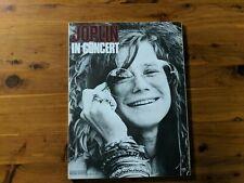 Janis Joplin in concert songbook