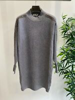Bling Turtleneck Jumper Dress with Crystal Detail | One Size | Various Colours