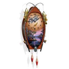 "James Meger ""Lakeside Memories"" Wall Clock"