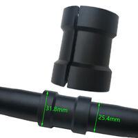Bicycle Bike Handlebar Bar 40mm Long Shim Spacer Stem Reducer 25.4mm To 31.8mm