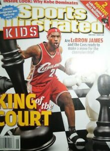 LEBRON JAMES sports illustrated kids KING OF THE COURT + POSTER matt holliday
