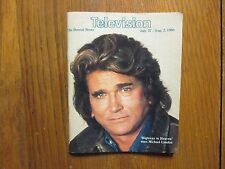 July 27, 1986 Detroit News Television Magazine(MICHAEL LANDON/HIGHWAY TO HEAVEN)
