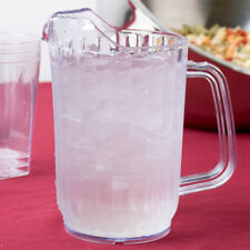 Set of 12 Choice 32 oz Clear San Plastic Beverage Pitchers Free Ship Usa Only