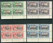 FALKLAND ISLAND DEPENDENCIES-1944 SOUTH GEORGIA.  Unmounted mint corner blocks