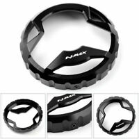 Motorcycle Fuel Gas Tank Cap Oil Tank Cover For Yamaha NMAX 155 2015-18 Blk A0