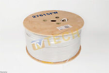 White Satellite Cable 250m For Sky Freesat Freeview Saorview RG6 High Quality