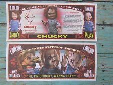 CHUCKY: Lakeshore Strangler Fictional Character ~ $1,000,000 One Million Dollars