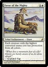 FAVOR OF THE MIGHTY Lorwyn MTG White Tribal Enchantment — Giant RARE