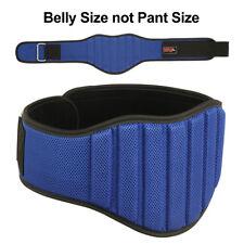 """Weight Lifting Belt 8"""" Wide Gym Back Support Belts Workout Men Women Lumber MRX"""