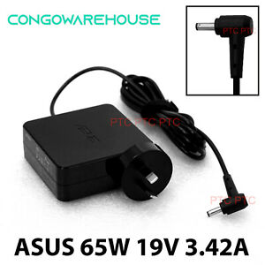 Official Genuine ASUS LAPTOP CHARGER POWER SUPPLY 19V 3.42A 65W ADAPTER+ AU Plug