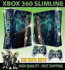 XBOX 360 Slim AUTOCOLLANT Montre DOGS DEDSEC 001 Aiden Pearce Skin & 2 Pad