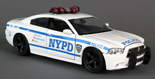 NEW York Police Department 1:24 NYPD modello di auto Dodge Charger Highway ny71693