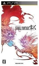 Jeux vidéo Final Fantasy region free