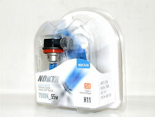 Nokya 7000k 55w Arctic White H11 Halogen Fog Light Bulbs B