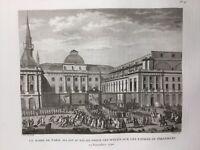 Assemblée Nationale 1790 Louis 16 Maire de Paris Révolution Française Gravure