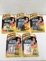 Kenner Star Wars Die Cast Action Masters Figures Trading Cards 1994 job lot