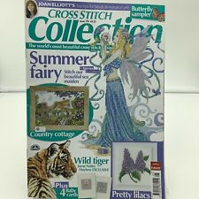 Cross Stitch Collection British Magazine 170 Joan Elliot Fair Sea Maiden Cottage