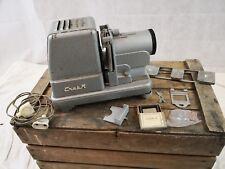 Projecteur CRATR diapositives anciens/projecteur d'école/objectif SOM Berthiot