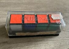1981 cube-4 Rubik's Cube like puzzle factory new old stock