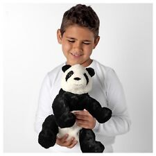 "IKEA Panda Bear 12"" Stuffed Animal Kid Soft Toy White Black KRAMIG NEW GIFT idea"