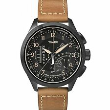 Timex Men's Intelligent Quartz Linear Chronograph Black Dial Watch T2P277