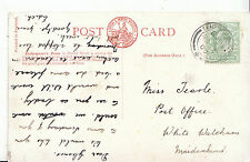 Genealogy Postcard - Family History - Tearle - Post Office - Maidenhead   BH3379