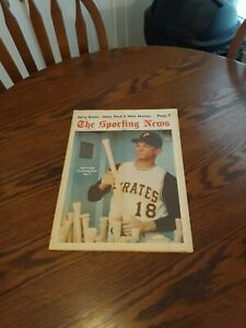 JULY 27,1968-THE SPORTING NEWS-MATTY ALOU OF THE PITTSBURGH PIRATES(MINT)