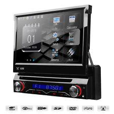 """7"""" motorizada Flip a pantalla HD coche reproductor de DVD Con Gps Bluetooth Usb Sd Y Radio"""