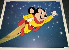 Rare Mighty Mouse Terrytoons Cel Special Proof Animation Edition Number 2 Cell