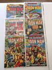Silver Age Iron Man lot of comics Near Mint condition