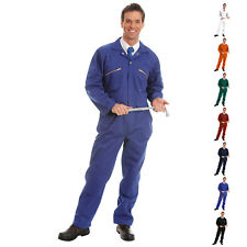 D-Max Boiler Suit (Zipped) with Knee Pad Pockets - Garage , Industry
