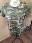 OLD NAVY NWT Size XL Camo 100% Cotton short sleeve T-shirt